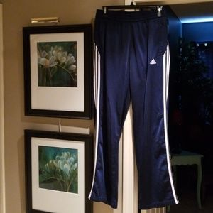 Adidas men's Navy track pant